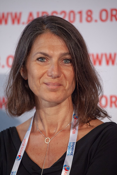 The Netherlands, Amsterdam, 24-7-2018. Press Conference HIV Prevention Highlights Research. Sarah Fidler.Photo: Rob Huibers for IAS. (Please publish always with complete attribution).