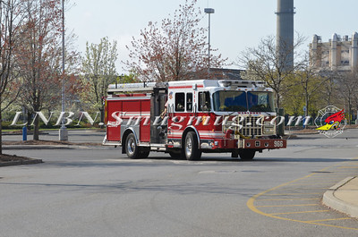 Westbury F.D. 3 Company WMD Drill at the Source Mall 4-28-13