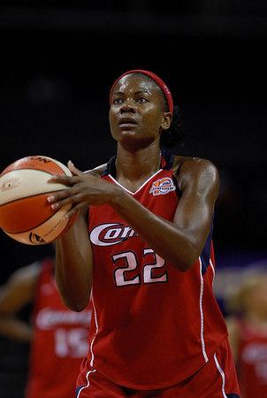8/8/06 - WNBA: Charlotte Sting vs Houston Comets