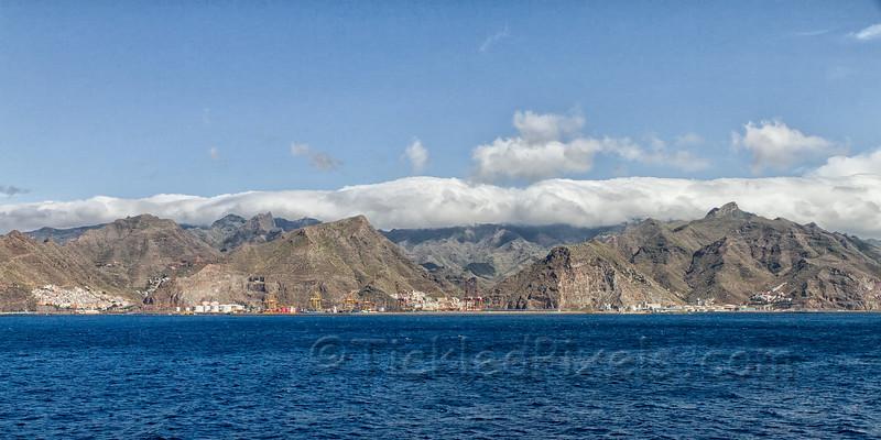 Tenerife Coastline near Santa Cruz