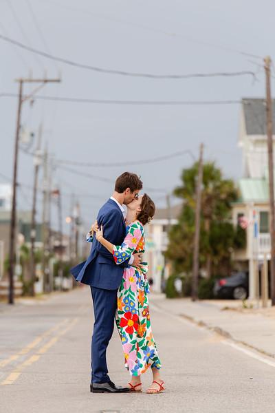 Blythe & Eric | Quaker Wedding Dance Party in Carolina Beach