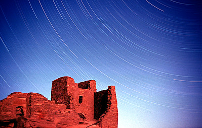 Indian Ruins Star Trails