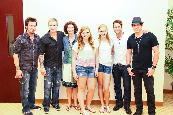 Parmalee Fan Meet & Greet at the NCRC Core Lab