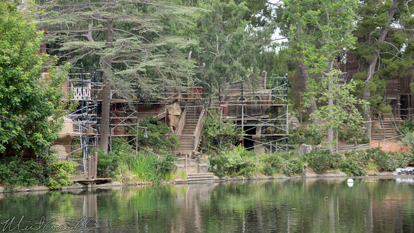 Disneyland Resort, Disneyland, Frontierland, Tom, Sawyer, Island, Pirates, Lair, Refurbishment, Star, Wars, Land, Rivers, River