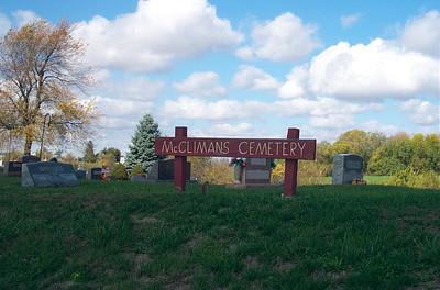 McClimans Cemetery, Hallsville