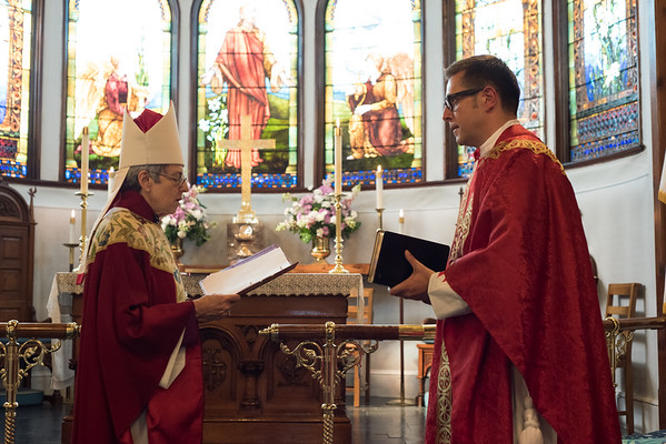 Reception of the Rev. Ellis Tommaseo - June 11, 2016