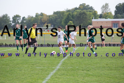 Hutch Girls Soccer vs Holy Family