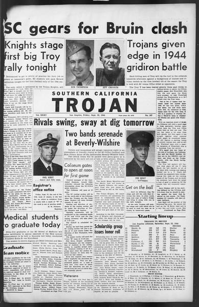 The Trojan, Vol. 35, No. 167, September 22, 1944