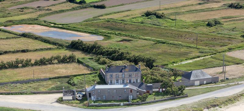 Rural Landscape on Peninsula Cotentin in France - Barfleur, Basse Normandy, France