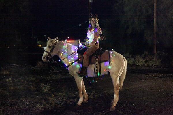 AZ Trail Riding: Apache Junction Light Parade Dec 7 2019