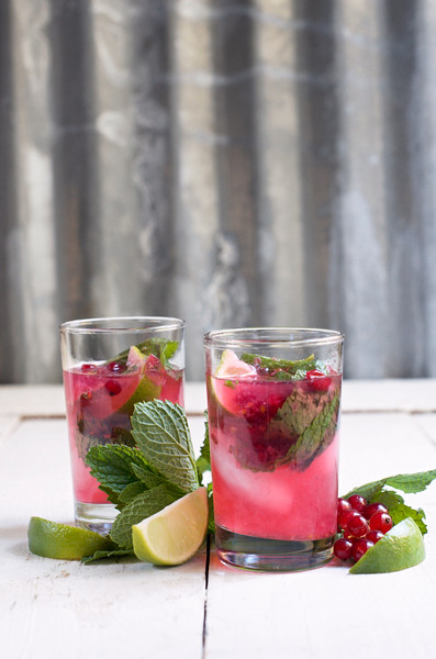 Red Currant Mojito