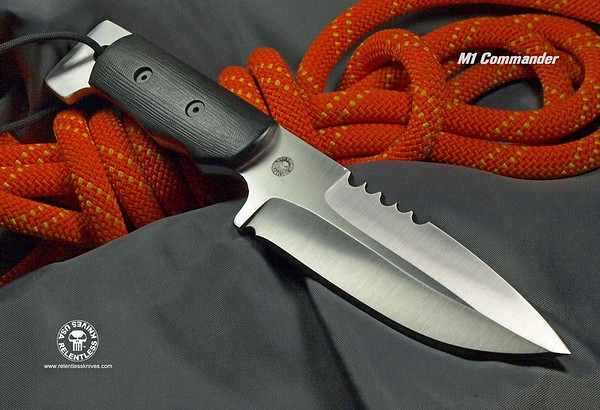 Available  Relentless Knives 0318