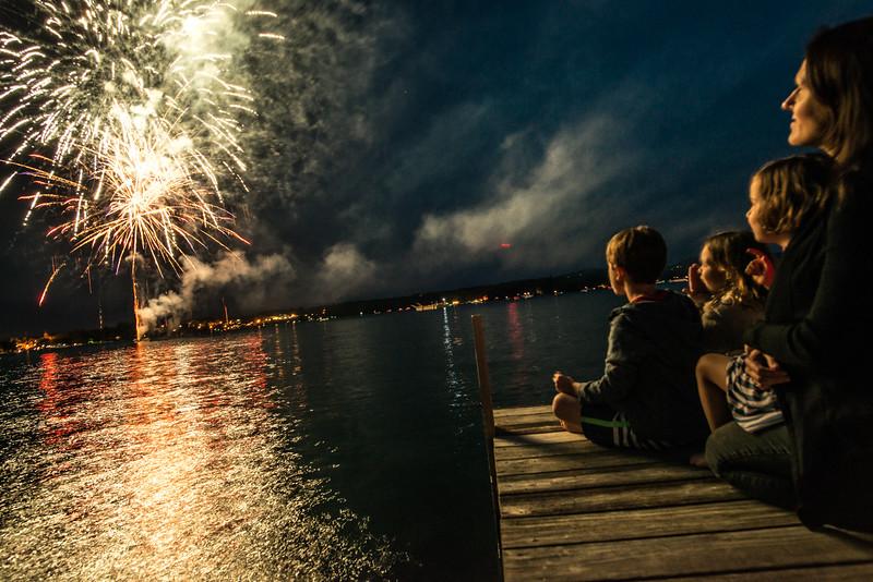 Fireworks Wolfeboro Bay, July 2014