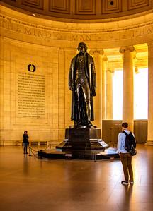 Jefferson Memorial - Oct 2019