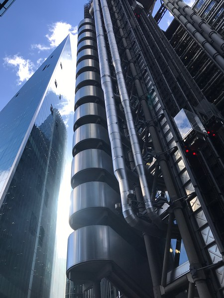 Lloyds Building in the City