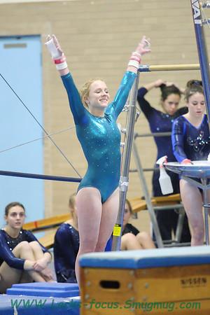 Coventry High School Gymnastics 2012