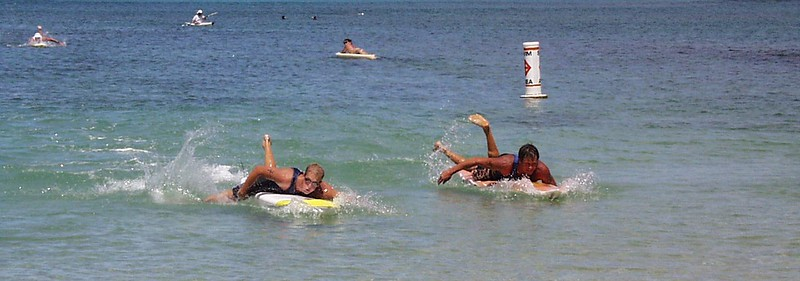 20th Annual Summer Surf Paddleboard Race 6-17-00