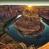 Sunset Horseshoe Bend