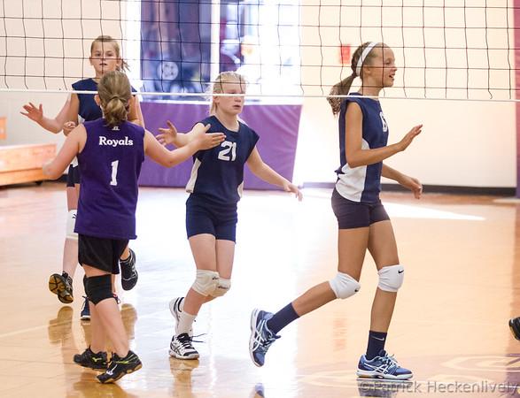 2015-09-14 Hillsdale Academy Junior High Volleyball vs. Jackson Christian