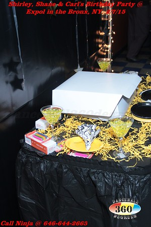 Shirley, Shane & Carl's Birthday Party @ EXPOL. Feb. 7th, 2015