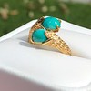 Vintage Bypass Gemstone Ring 12