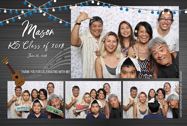 Mason's Graduation (Mini Open Air Photo Booth 2)