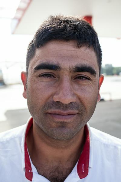 Turan, pump attendant (Turkey)