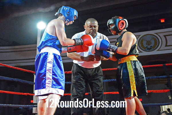 Bout #2  Antonio Ortiz, Balley Forge Boxing Club  vs  Bryan Caraballo, West Side Boxing Club,  125 Lbs. - Sub-Novice