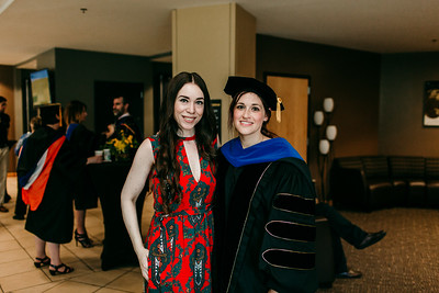 2018 Doctoral Hooding and Graduate reception