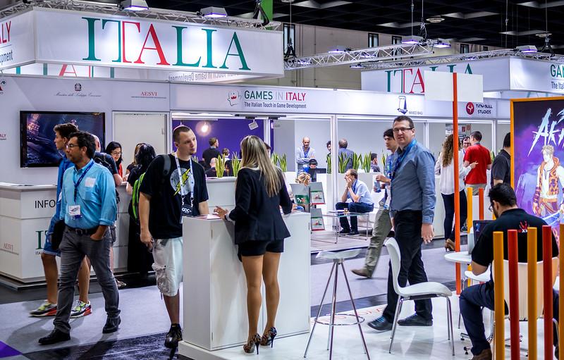 Italy at Gamescom 2015