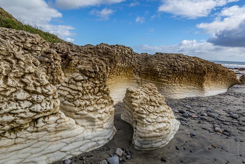 «Paturau Beach»: Sandsteinformationen