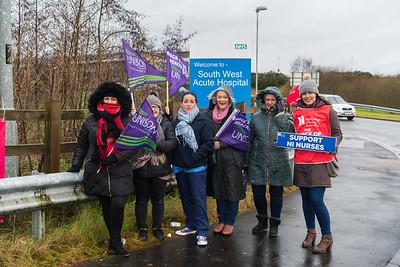 2019.12.18 Nursing Strike SWAH Enniskillen
