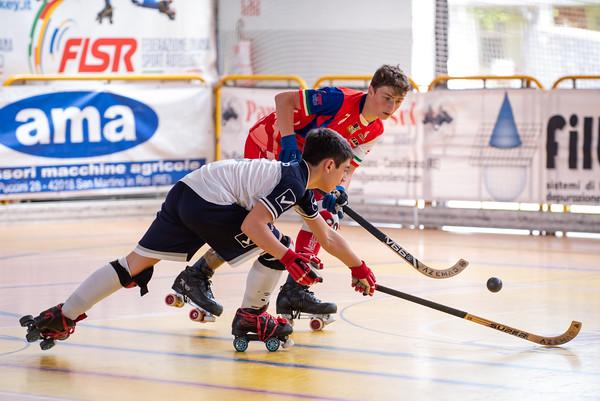 Roller Salerno vs Correggio Hockey
