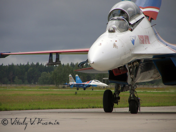 65th anniversary of 16th Russian Air Army in Kubinka