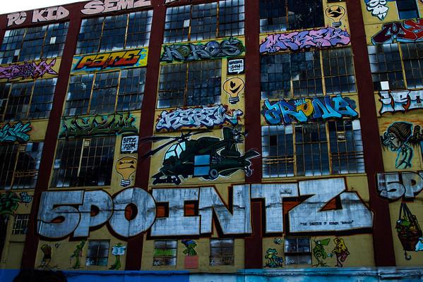 5 Ptz Graffiti Yard in NYC