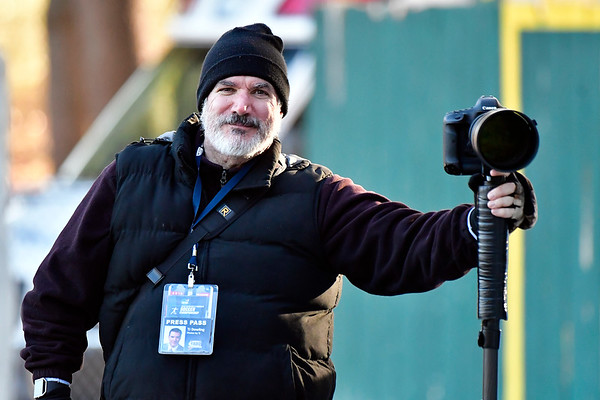 11/23/2018 Mike Orazzi   Staff TJ Dowling during the Battle for the Bell at Muzzy Field Friday. Central won 24-19.