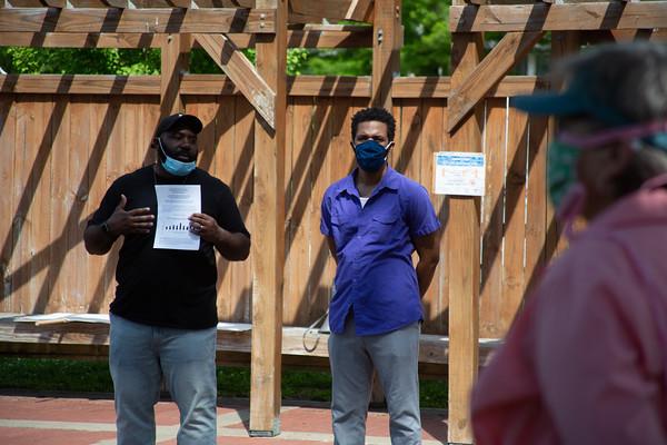 Protest in Aggieville (BLM)