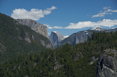 Hetch Hetchy to Rancheria Falls, Yosemite, April 2012