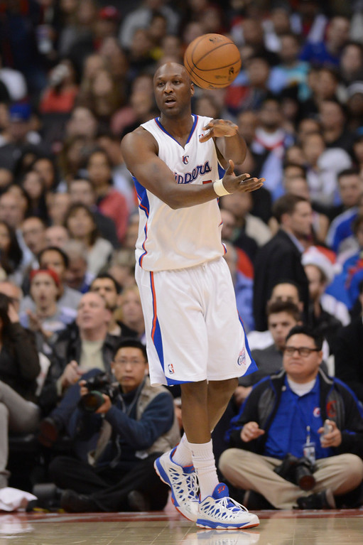 . Clippers\' Lamar Odom has helped provide the depth that has helped the Clippers win 11 games in a row.  (Photo by David Crane/Los Angeles Daily News)