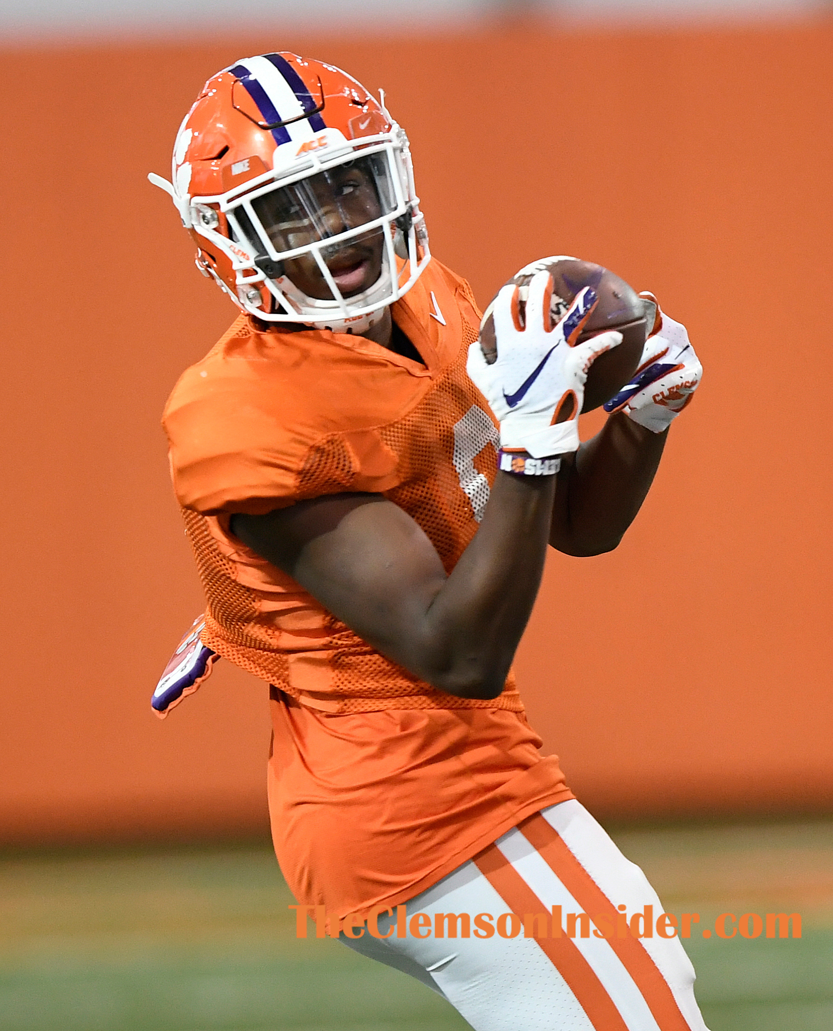 Clemson safety RJ Mickens (9) during the Tiger's spring practice Monday, March 2, 2020. Bart Boatwright/The Clemson Insider