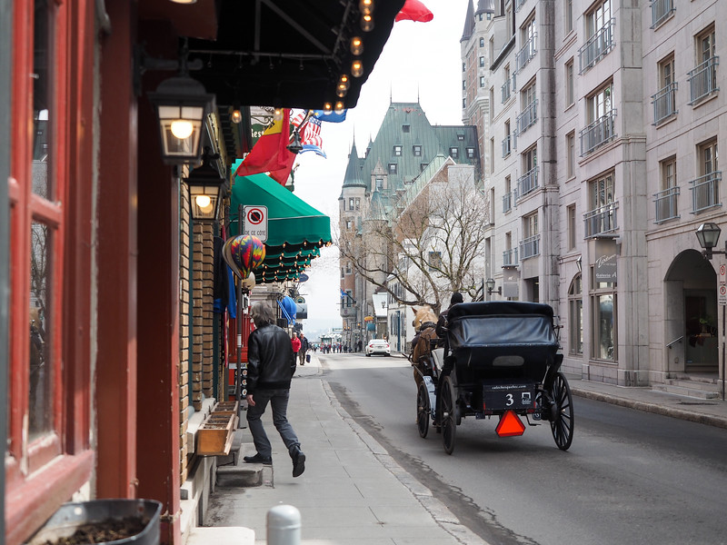 Street in Quebec City