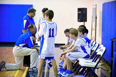 7th/8th Grade Basketball vs. CFP, January 26, 2010