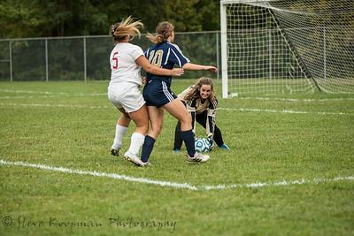 2017 PHS Girls Soccer vs Madison