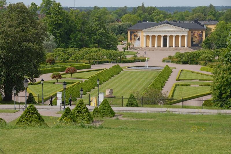 Botaniska trädgården, Uppsala