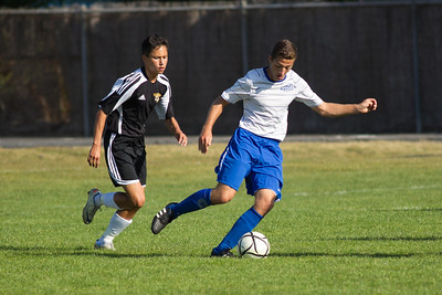 RCS Varsity Boys' Soccer vs LW - 09.27.12