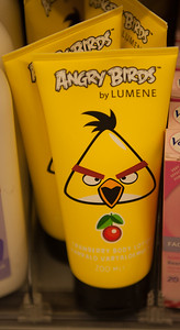 Angry Birds Cloudberry Shower Gel