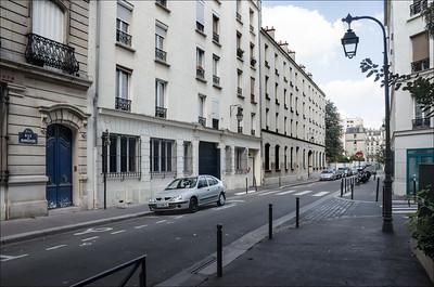 Rues banales parisiennes