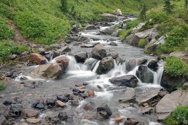 """""""Myrtle Falls #2"""", Mt. Rainier National Park, Wa."""