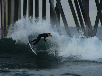 3/20/20 * DAILY SURFING PHOTOS * H.B. PIER