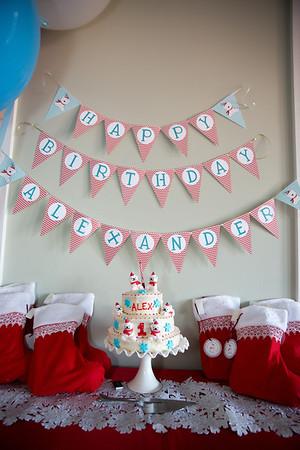 Alex First Birthday